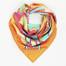 """Hermes Silk """"L'Art Indien Des Plaines"""" Scarf - $305.00"""