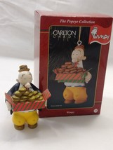 NOS Carlton Cards Christmas Ornament Wimpy From Popeye 1998 Vintage NIB - $30.00