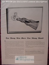 Rare Esquire Advertisement Ad George Petty Girl Reproductions From Esquire! - $9.00