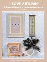 I Love Autumn Hardanger Embroidery Seasonal Sampler Rosalyn Watnemo Book image 2