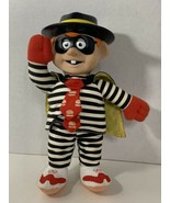 McDonald's Hamburglar plush doll vintage 1996 vinyl head M-B Sales - $29.69