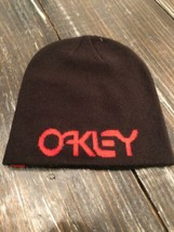 OAKLEY Fine Knit Beanie Hat Jeff Staple S75 Collection Black Colorway Br... - $29.70