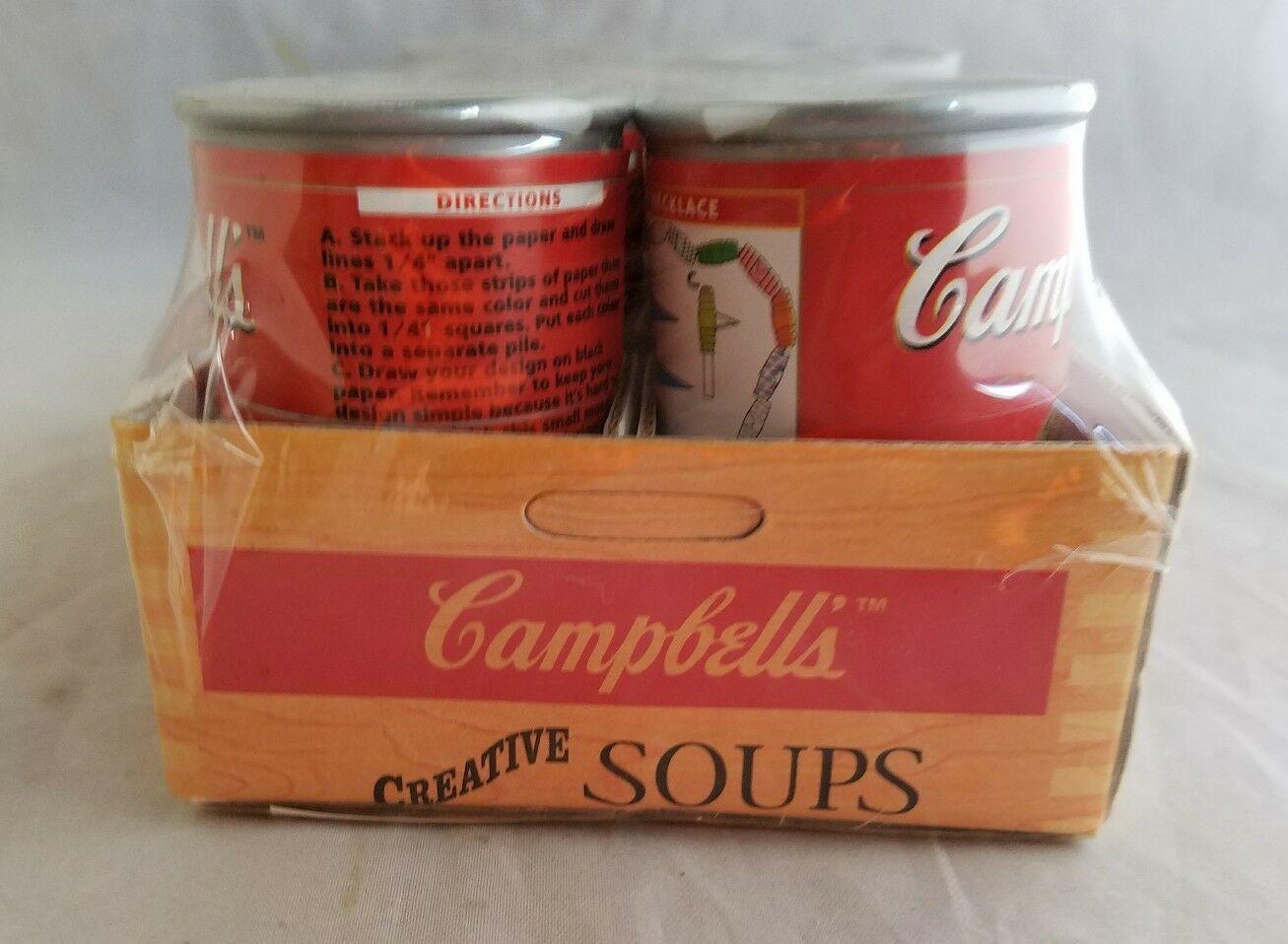Campbells Soups Desk Set Promotional Advertising Set Sealed Office Supplies