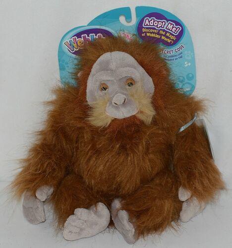 Ganz Brand Webkinz Collection HM417JA Brown Tan Plush Orangutan