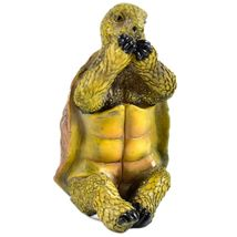 See No Evil Speak No Evil Hear No Evil Three Wise Turtles Tortoise Figurine Set image 6