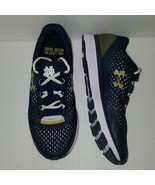 HTF and Rare Under Armour Bandit Notre Dame Sneakers Fighting Irish Navy... - $118.79