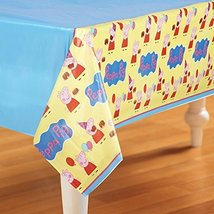 Amscan Plastic Table Cover | Peppa Pig Collection | Party Accessory | 6 ... - $45.19