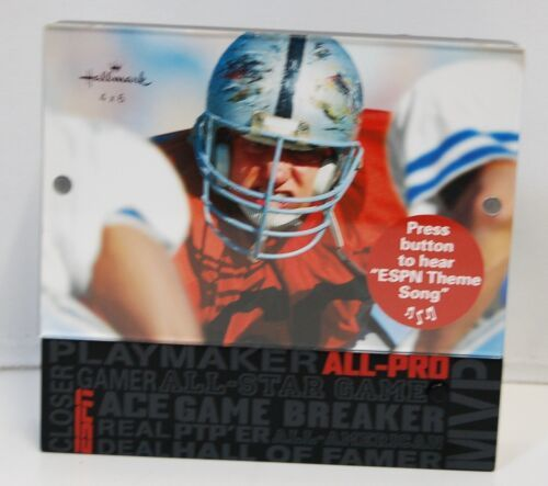 Hallmark 1ESP7617 Sports Picture Frame Plays ESPN Theme Song