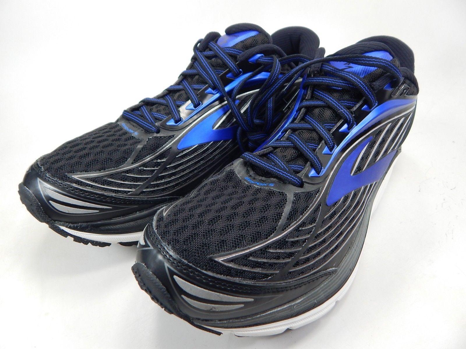 Brooks Transcend 4 Size US 10 M (D) EU 44 Men's Running Shoes Black 1102491D002 image 3