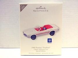 Hallmark Keepsake GM 1968 Pontiac Firebird Special Edition Christmas Orn... - $39.99