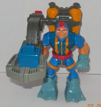 Vintage 1998 FISHER PRICE RESCUE HEROES SCUBA DIVER Gil Gripper FIGURE - $14.00