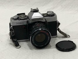 Minolta XG-1 35mm Film Camera w/ Albinar ADG 1:2:8 28-52mm Lens.   B1 - $59.39