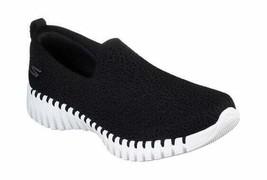 Women's Skechers GOwalk Smart Slip-On Walking Shoe Black/White - $91.44