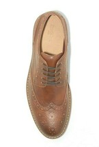 Goodfellow & Co. Brown Faux Leather Francisco Oxford Shoes 10.5 NWT image 2