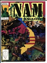 The 'Nam Magazine #1 1988-Comic Magazine-Marvel-First issue. - $25.22