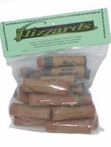 Mixed, 1c - 25c - Crimped End Coin Wrappers,40 pack, Bonus Twist & Crimp... - $12.49