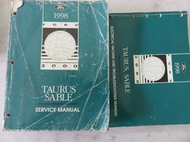 1998 Ford Taurus Sable Service Repair Manual OEM Factory Dealership Workshop Set - $11.80