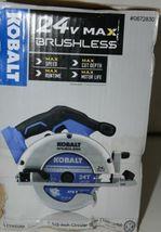 KOBALT 0672830 Circular Saw 24V Max Brushless TOOL ONLY image 4