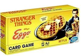 Net Flix Stranger Things Eggo Card Game Hasbro Rare New Factory Sealed Collectibl - $35.63