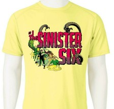 Sinister Six Dri Fit graphic T-shirt moisture wicking superhero comic Sun Shirt image 1