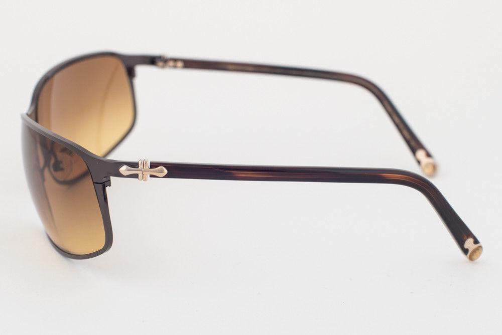 MATSUDA Black Brown / Brown Gradient Sunglasses 10682 BBR