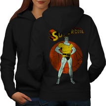 Super Cool Hero Fashion Sweatshirt Hoody  Women Hoodie Back - $21.99+