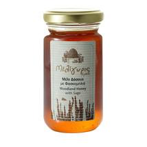 Cretan Woodland Honey with Sage 270gr-10.72oz Jar from Crete Island GREE... - $17.47