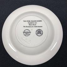 Wedgwood Ethel Walker School Ashtray Change Dish Beaver Brook Dormitory Simsbury image 6