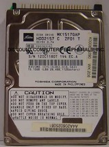 "MK1517GAP Toshiba HDD2157 15GB 2.5"" IDE Drive Free USA Ship Our Drives Work - $11.42"