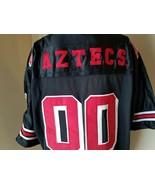 NWT California Teams Collegiate Jerseys Black/ Red San Diego Aztecs XL - $53.93