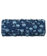 "Sondra Roberts Elegant Jeweled ""Bubble/Bauble Bead"" Sapphire Blue Evenin... - £36.63 GBP"
