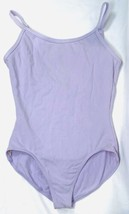 Capezio Girls Size Large Lavender Leotard Lined Adjustable Straps EUC - $5.89