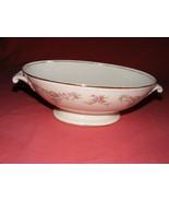 Homer Laughlin Wedgwood Oval Handled Serving Bowl Eggshell Georgian - $24.95