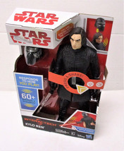 "Star Wars Interactech Kylo Ren 12"" inch Electronic Action Figure Talking - $16.23"