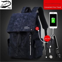 BDF 2 pcs Unisex travel backpack chest bag high school backpack 14'' lap... - $55.23+