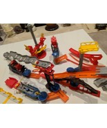 Hot Wheels 2007 Track and Various Pieces and Parts - $65.01