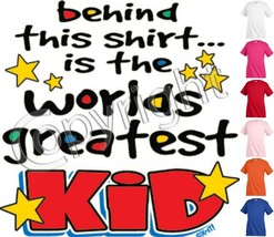 Worlds Greatest Kid Funny T shirt Youth tee Baby Toddler bodysuit KP52 - $12.99