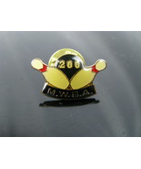Vintage 200 Club Bowling Award Lapel Hat Pin  - $5.89