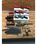Large Lot HO Scale Junk Drawer Lot: Cars, Track, Signals, Etc As Is M-6 - $4.94