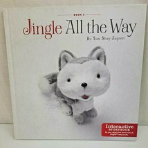 Hallmark Jingle All the Way Interactive Hardcover Story Book #1 Shay-Zapien - $12.34