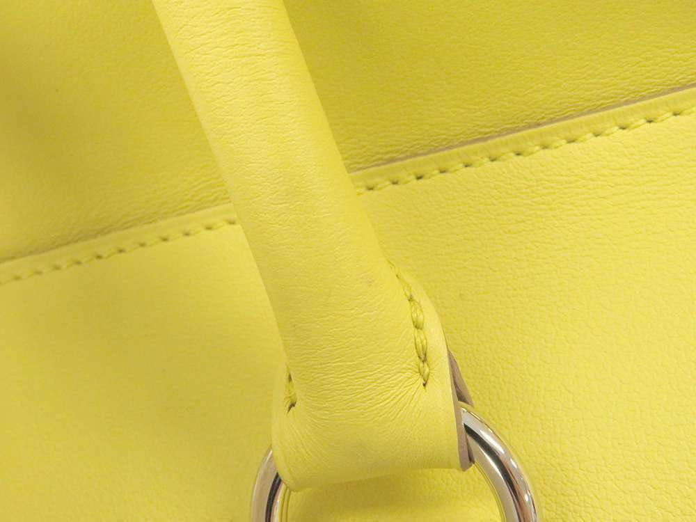 HERMES Toolbox 26 Veau Swift Soufre Handbag Shoulder Bag France #Q Authentic image 9