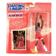 Loy Vaught 1997 Starting Lineup NBA Los Angeles Clippers Kenner Sealed O... - £4.00 GBP