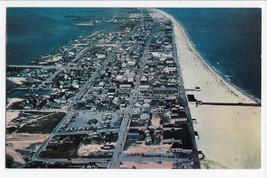 Ocean City MD Maryland Air View Bird's Eye Vintage Postcard - $5.95