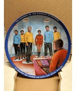 Star Trek Beam Us Down Scotty Collectible Plate 1983 Limited Edition #25... - $18.49