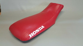 Honda TRX250EX Seat Cover In Red, 25 Colors & 2-tone 2006-2009 (Honda Sides) - $39.99