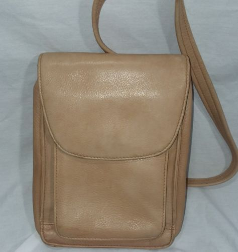 e965c5798 12. 12. Previous. TIGNANELLO Crossbody Leather Bag Convenient Zip Rear  Pocket for Cards Money ID