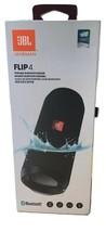 JBL Flip 4 Portable Bluetooth Waterproof Speaker - Black - $126.93 CAD