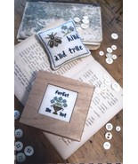 Forget Me Not Treasure Box cross stitch chart by Chessie & Me   - $9.00