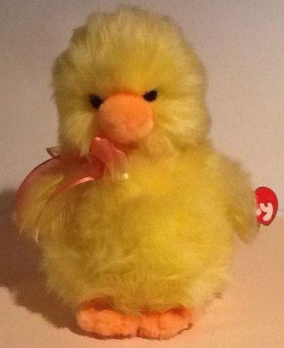 2000 New MWMT Retired 11/'/' Ty Classic Quackie Plush Stuffed Yellow Duck