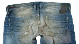 Brand New Diesel Men's Denim Regular Slim Straight Distressed Jeans Safado 0884B image 1